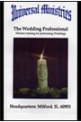 Minister training for performing Weddings