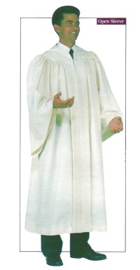 Basic White Minister Robe