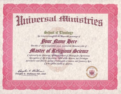 Biblical Religious Master Degree
