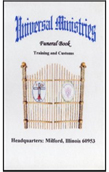 Funeral Training & Customs Book