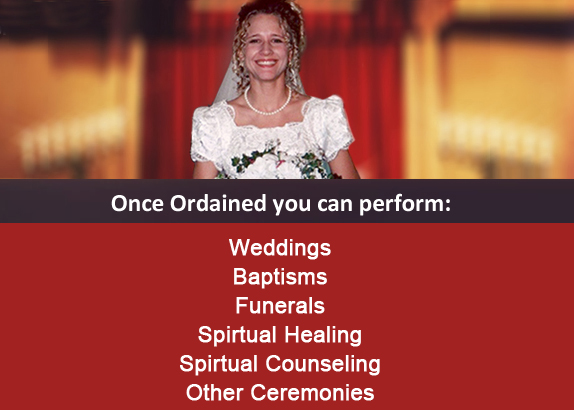Get Ordained