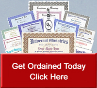 Become Ordained